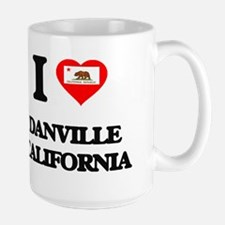 I love Danville California Mugs