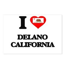 I love Delano California Postcards (Package of 8)