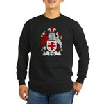 Terry Family Crest Long Sleeve Dark T-Shirt