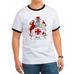 Terry Family Crest Ringer T