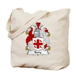 Terry Family Crest Tote Bag