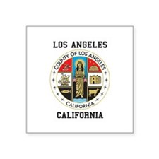 County of Los Angeles Sticker