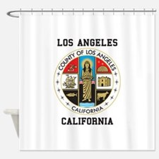 County of Los Angeles Shower Curtain