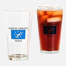Corpus Christi, Texas Drinking Glass