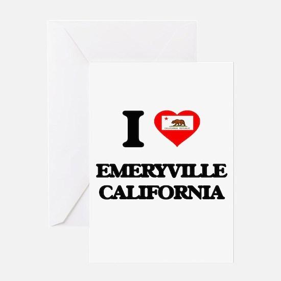 I love Emeryville California Greeting Cards