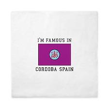Cordoba, Spain Flag Queen Duvet