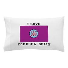 Cordoba, Spain Flag Pillow Case