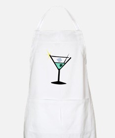 Martini Glass 3 BBQ Apron