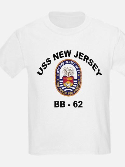USS New Jersey BB 62 T-Shirt