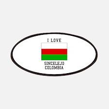 I Love Sincelejo Colombia Patch