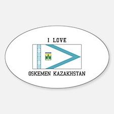 Oskemen Kazakhstan Decal