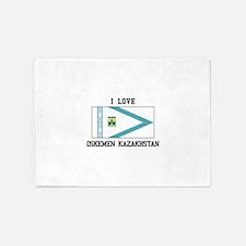 Oskemen Kazakhstan 5'x7'Area Rug