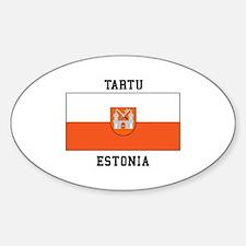 Tartu, Estonia Flag Decal