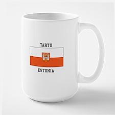 Tartu, Estonia Flag Mugs