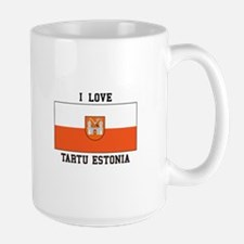 I Love Tartu Estonia Mugs