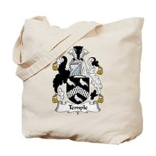 Temple Family Crest Tote Bag