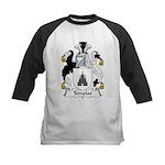 Templar Family Crest Kids Baseball Jersey