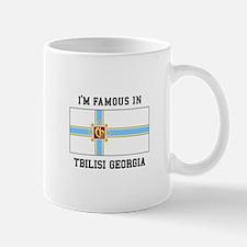 I'M Famous in Tbilisi Georgia Mugs