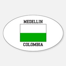 Medellin Colombia Decal