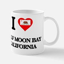 I love Half Moon Bay California Mug