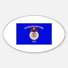 Merchant Marine Flag Decal