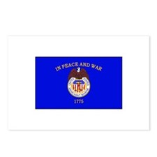 Merchant Marine Flag Postcards (Package of 8)