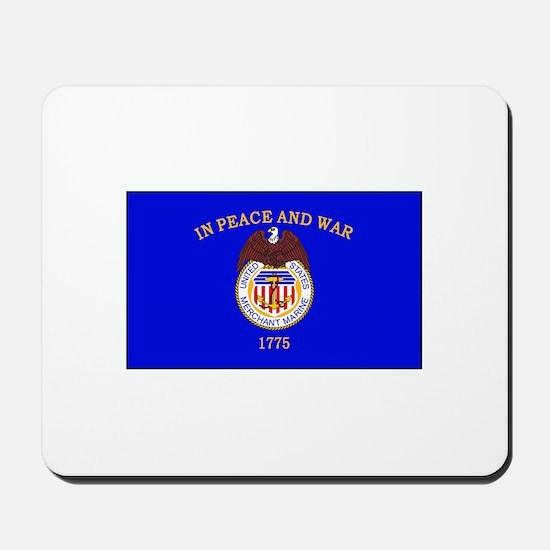 Merchant Marine Flag Mousepad