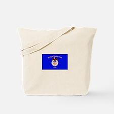 Merchant Marine Flag Tote Bag