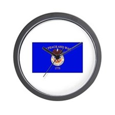 Merchant Marine Flag Wall Clock