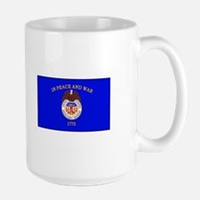 Merchant Marine Flag Mugs