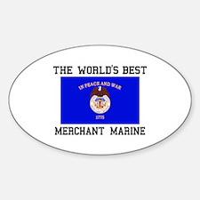 Best Merchant Marine Decal