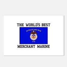 Best Merchant Marine Postcards (Package of 8)
