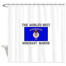 Best Merchant Marine Shower Curtain