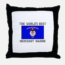 Best Merchant Marine Throw Pillow