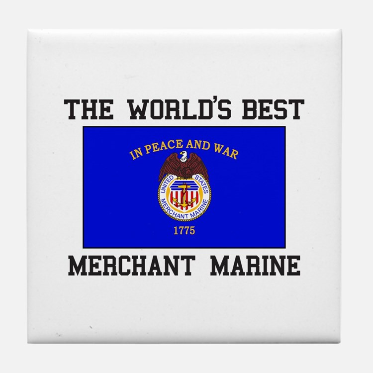 Best Merchant Marine Tile Coaster