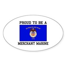 Proud to be a Merchant Marine Decal