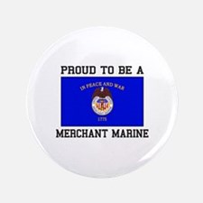 Proud to be a Merchant Marine Button