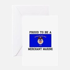 Proud to be a Merchant Marine Greeting Cards