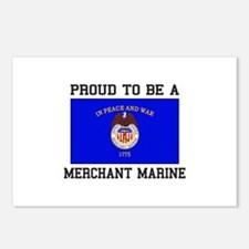 Proud to be a Merchant Marine Postcards (Package o