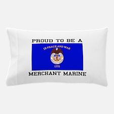Proud to be a Merchant Marine Pillow Case