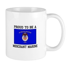 Proud to be a Merchant Marine Mugs