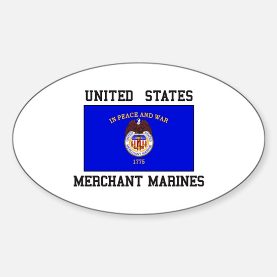 US Merchant Marine Decal