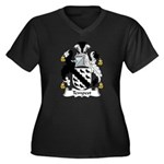 Tempest Family Crest Women's Plus Size V-Neck Da
