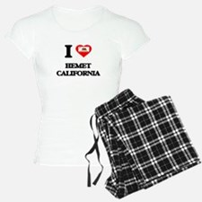 I love Hemet California Pajamas