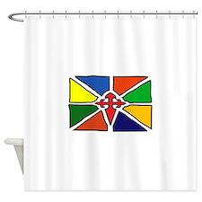 Merida Venezuela Flag Shower Curtain