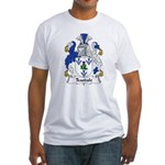 Teasdale Family Crest Fitted T-Shirt