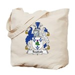 Teasdale Family Crest Tote Bag