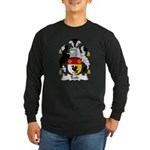 Teale Family Crest Long Sleeve Dark T-Shirt