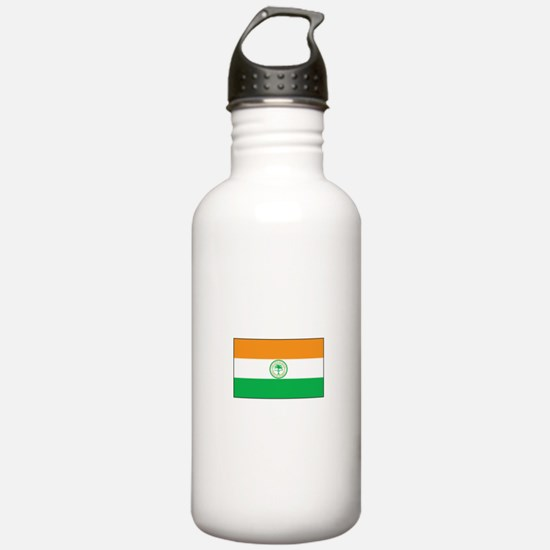 Miami Florida Flag Water Bottle