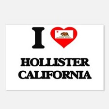 I love Hollister Californ Postcards (Package of 8)